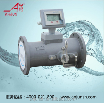 Cheap steam gas turbine flow meter