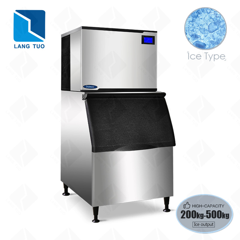LangTuo XH500T automatic snow make flake snowflake ice machine