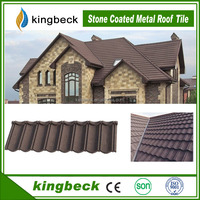 Popular Roofing Materials Discount Kingbeck Sand Coated Roof Tiles