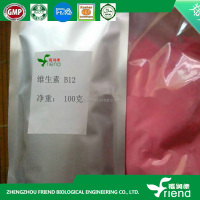 Factory product pharmaceutical grade Vitamin B12 powder 99%,
