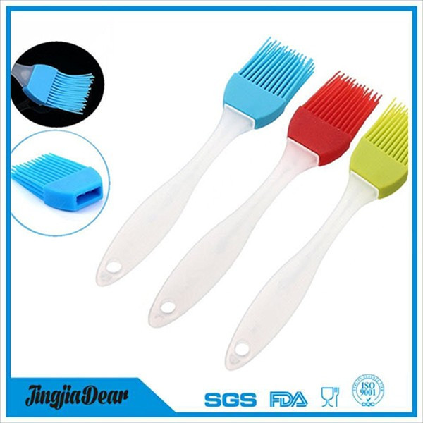 Cute Silicone Baking Bakeware, Bread Cook Pastry Oil Cream BBQ Tool, Basting Brush