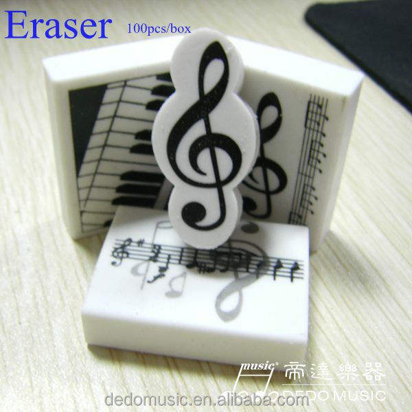 Fashion music stationery eraser making machine