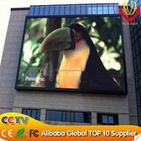 Alibaba express! Outdoor flexible video dot matrix led display/led moving message sign