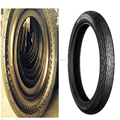 Motorcycle tyre 2.75-14 mould processing