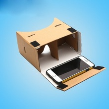 The classic 3d google cardboard glasses v1
