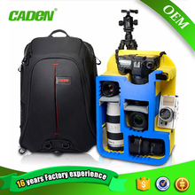 Waterproof and shockproof camera case photography bagpack
