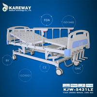 Manufacturer medical equipments Four functions nursing bed positions