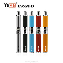 2017 Orange Free Sample New Product Dry Herb Vaporizer e Cig Yocan Evolve D wax atomizer