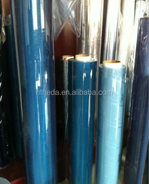 PVC super clear film for bag material