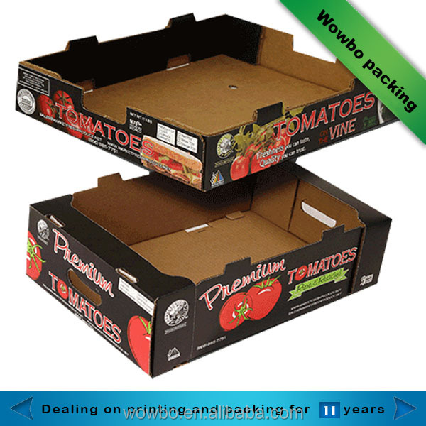 vegetable fruit tomato packing storage boxes