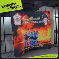 Eye-catching advertising banner stand, exhibition display,pop up display