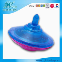 HQ9626 music and light spinning top with EN71 standard for promotion toy