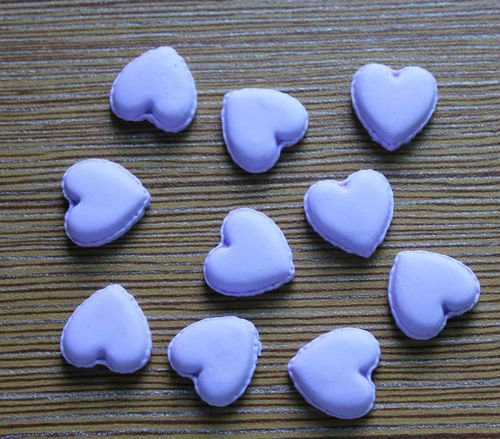 Imitation food French cookies Polymer clay cookies Heart shape macaron