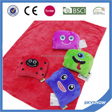 New Style Sheep Blanket And Pillow/ Car Travel Pillow Blanket
