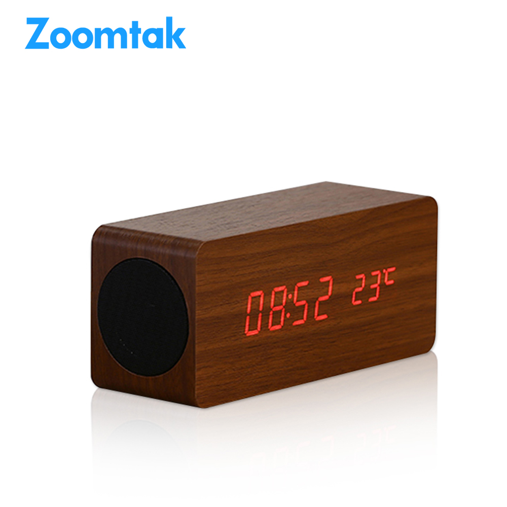 Home & outdoor multifunction wireless wooden Bass stereo mini <strong>speaker</strong>