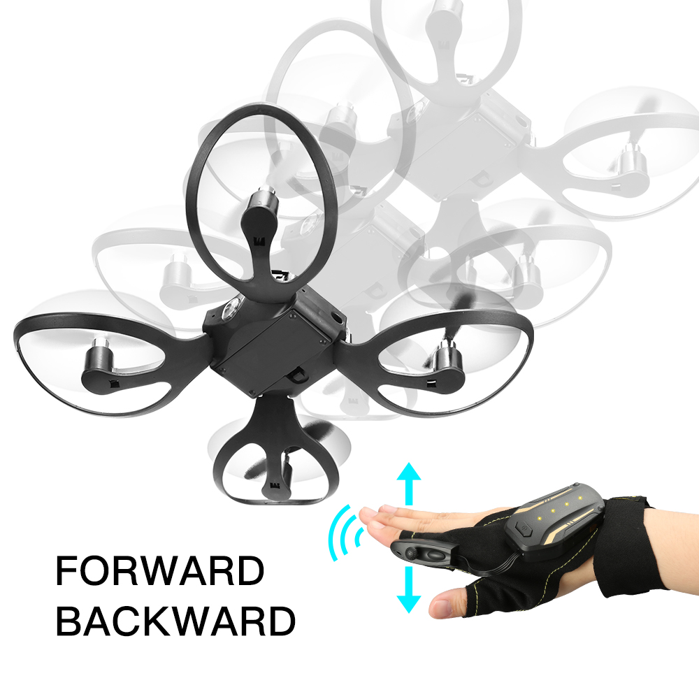 NEW ARRIVING W606-16 2.4G Hand Sensor Control Foldable Mini RC Drone