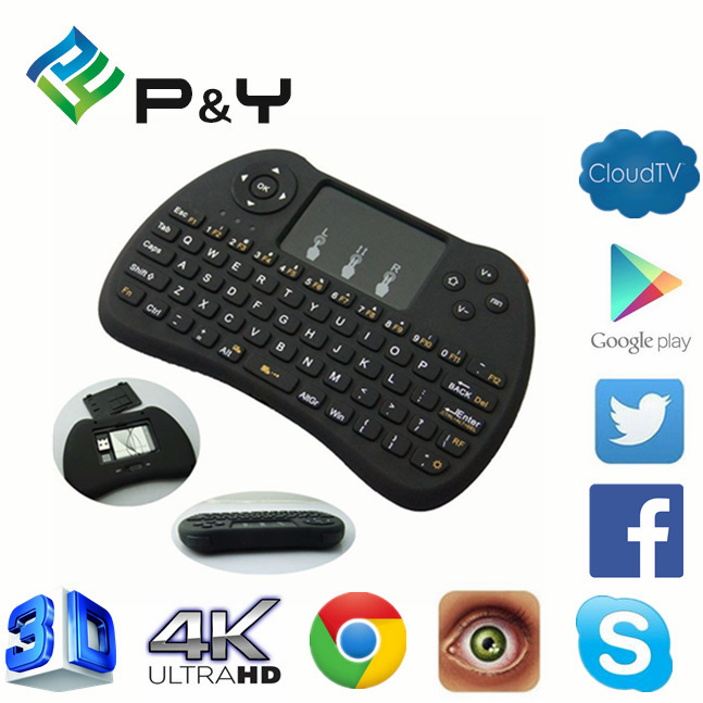New product 2017 H9 air mouse for Android TV bt pc keyboard wholesales Wireless remote controll