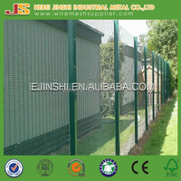 3m Height Outdoor Green Color No Climb Fence No Dig Fence
