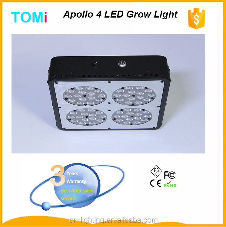 ebay best sellers hydroponics growing light system full spectrum 180W apollo 4 led grow lights/hydroponic supplies