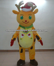 reindeer mascot costume Christmas costumes for adults