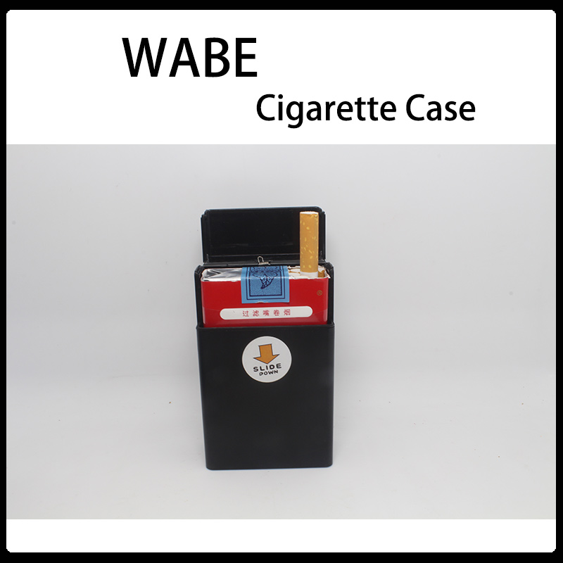 New style customized crazy selling best time metal cigarette case smoke holder