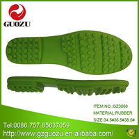 lady outsole rubber materials