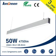 sell used greenhouses led tube 18 w natural white office fixture grid linear fluorescent light fixtures(lamp fixture) led tube