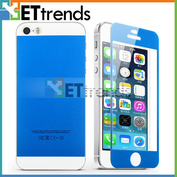 Free Sample High transparant Ultrathin Anti-Water Anti-Oil screen protector film for iPhone 5 5c 5s