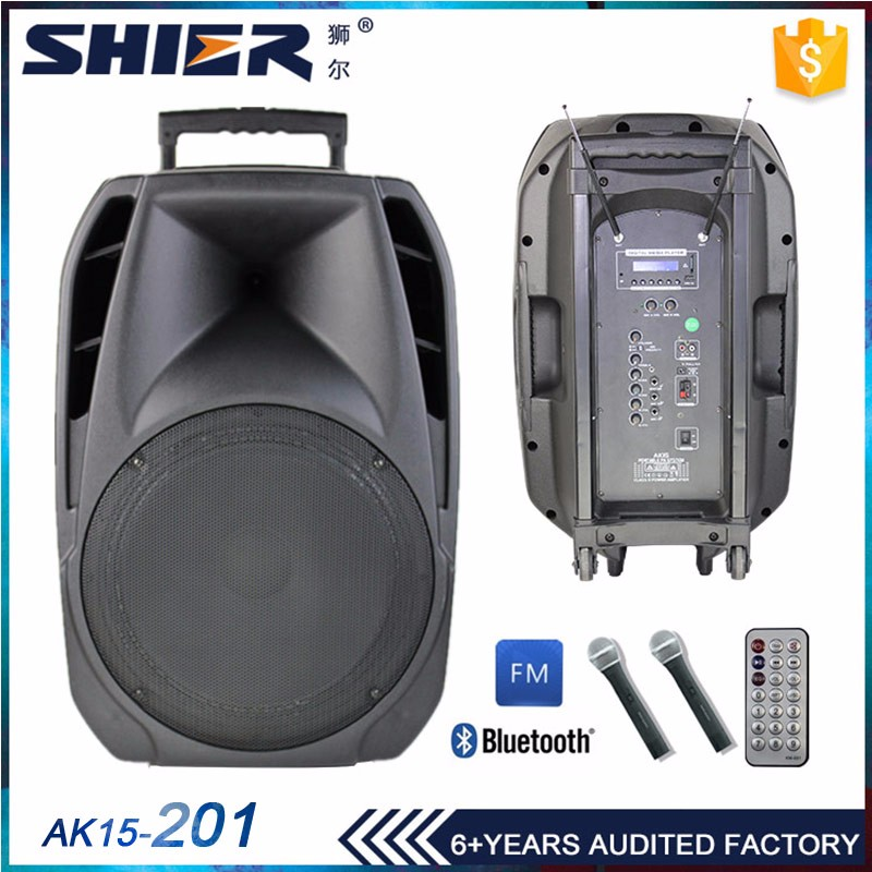 Custom trolley multimedia speaker system portable bluetooth speaker