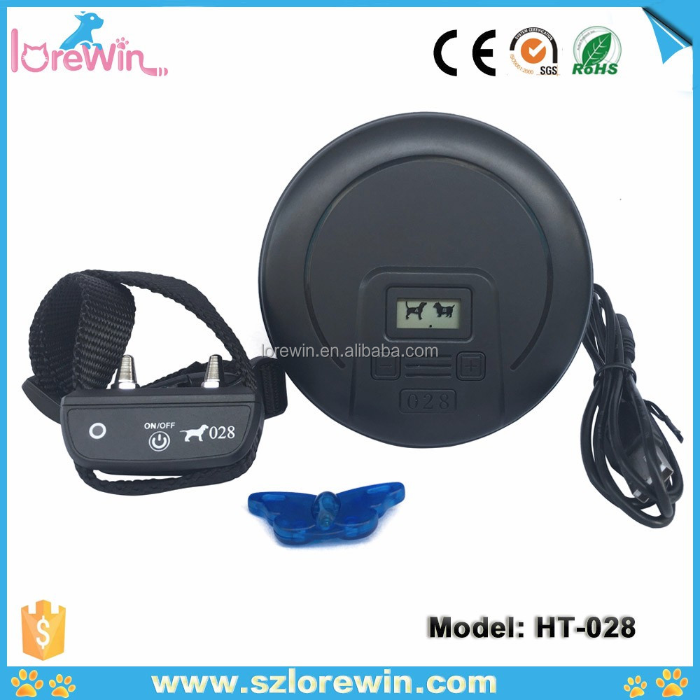 LoreWin <strong>HT</strong>-028 Wireless Dog Containment Systems Electric Fence