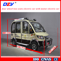 Fashionable electric car 4 seats with 3KW AC motor power