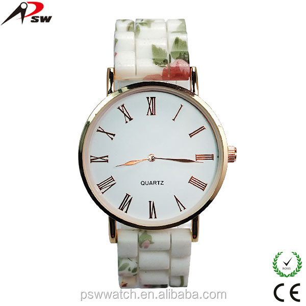 New arrival colorful fashion girl watches,factory price vogue silicone watch for women ladies