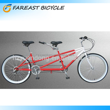 Two People Bikes Tandem Road Touring Comfort Bike 26'' Professional Manufacturers