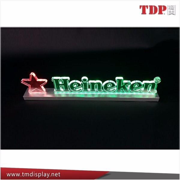 Advertising LED Edge Lit Acrylic Word Sign Board,Acrylic Light Box Display