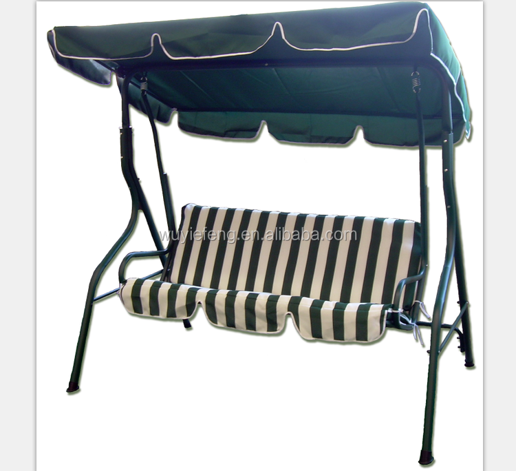 patio outdoor swing chair for three person