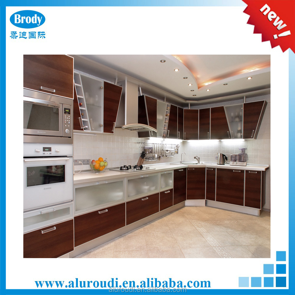 L shaped modular kitchen design,kitchen furniture turkey
