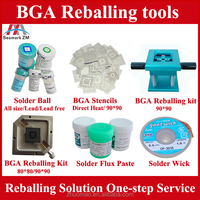 BGA reballing kit solder paste solder ball leaded sn63/pb37