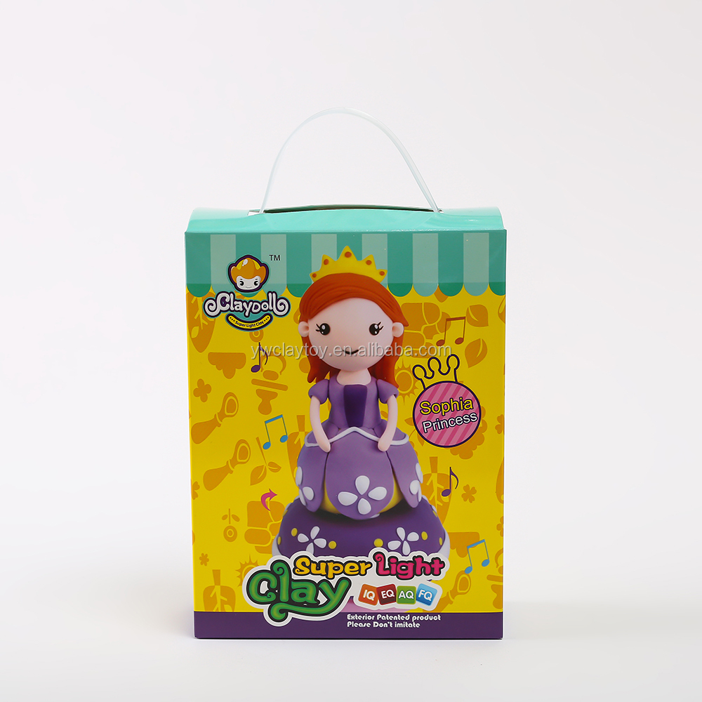 Clay Doll Clay Princess Slime Clay Kids New Play School Toys