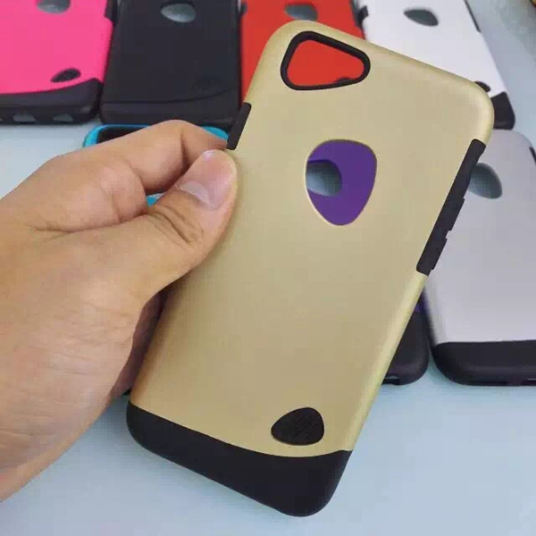 Drop Armor Hybrid Dual Layer Defender Protective Case Cover for iPhone 6S