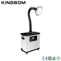 White And Black Color Nails Dust Collector Vacuum Cleaner Machine With Strong Suction Arm Salon Tool for Nail&Beauty&Hair