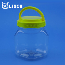 Free Samples OEM ODM 640ml Diamond Shape Plastic 50g Jar For Food Contain