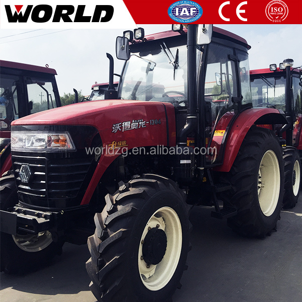 Widely Agriculture Farm Used 130HP 4x4 Wheel Tractor Price With Attachment For Sale Price