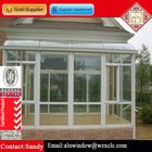 Sunroom With Folding Conservatory Doors