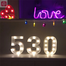Mr Mrs wedding decorations led marquee lights giant Alphabet love letters