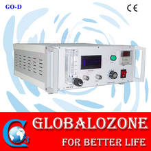Medical ozone generator with high ozone purity for blood treatment