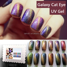 Wholesale Sky Cat Eye Gel Polish Soak Off High Quality Nail Polish UV Gel Galaxy Cat Eye Nail Polish