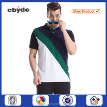 Factory custom sublimated quality polo shirt cotton shorts man