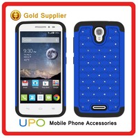 [UPO] Luxury Diamond Combo Cover phone case for alcatel one touch pop astro