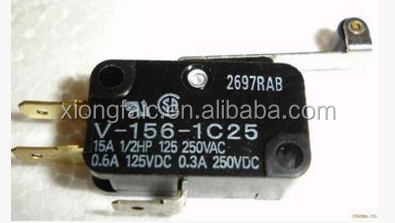 Smart Electronics V-156-1C25 MICRO SWITCH SPDT HINGE ROLLER LEVER 15A The switch module