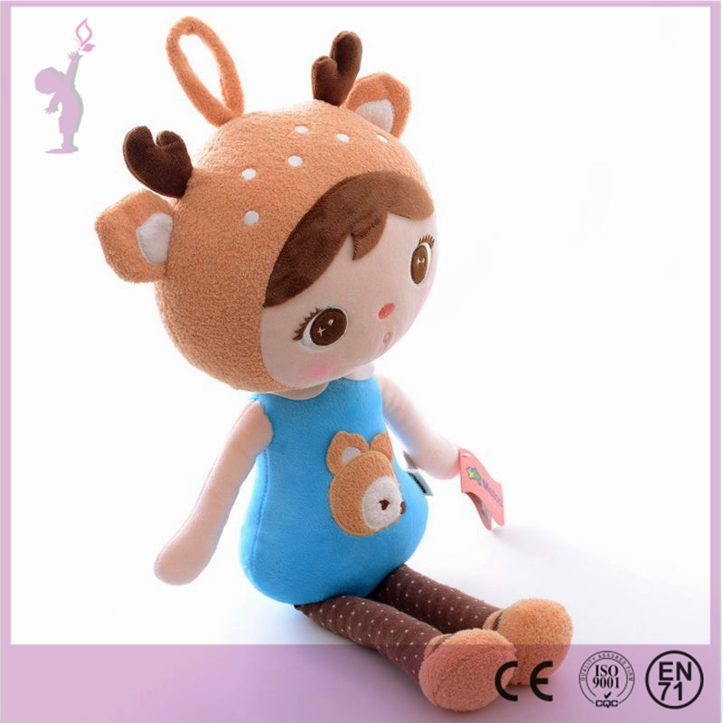 2016 Alibaba new hot handmade toys plush crochet toys deer christmas toys